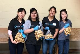 One Planet Ops Gives Back: Phtos From Our First Employee Service Day