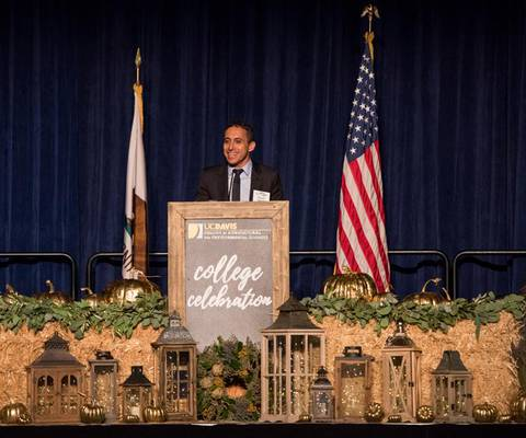 Payam Zamani, Founder of One Planet Ops, Honored with Award of Distinction from UC Davis